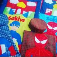 sarung instan anak karakter sajadah anak karakter lucu peci anak murah