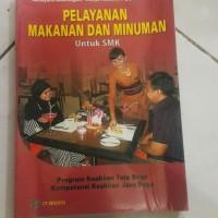 Harga buku bekas pelayanan makanan dan minuman untuk | WIKIPRICE INDONESIA