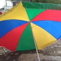 Payung Tenda BESAR Tutup Besi  Diameter 260cm Kokoh
