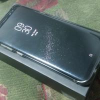 Samsung S8 Plus 128GB Duos black bekas mulus sekali