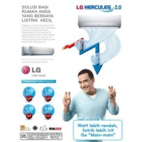 LG AC Split F05NXA 1/2 PK Hercules Nova (Regenerasi Her Diskon