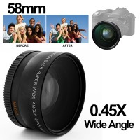 Termurah Super Wide Angle Lens with Macro 58mm for Canon