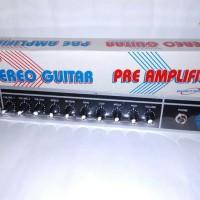 Kit Pre Amplifier Guitar/Gitar Stereo Ranic 233