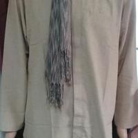 NEW Kemeja Koko, Baju Koko Putih Gamis Koko Pria Rabbani Arjuna blg
