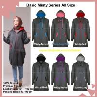 Jaket Hijaber Muslimah Hijacket Basic Original Misty Series All Size
