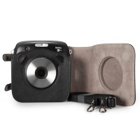 Fujifilm Kamera Instax Square SQ10 Leather Bag Case Instax