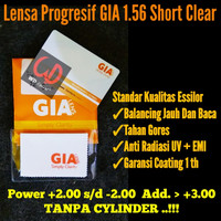 Lensa Progresif GIA ESSILOR 1.56 | Lensa Progresif GIA