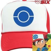 Jual Topi Pokemon Go : Ash Ketchum 2 Murah