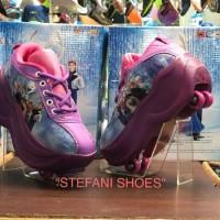 TERLARIS SEPATU ANAK WANITA sepatu roda 2 frozen roller shoes 2 in 1