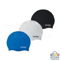 Topi Renang 8+ Thn INTEX | Silicone Swim Cap