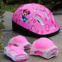 Helm Pengaman Skuter Dan Sepatu Roda Anak Otoped 4 In 1