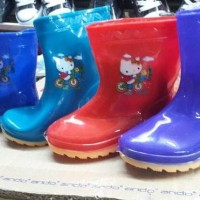 Sepatu Boots Boot Anak Kids Shoes Karet Rubber Jelly Anti Air Murah
