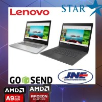 Laptop Gaming Lenovo Ideapad 320 14Ast Amd A9 9420 / 4Gb / 1Tb / Resmi