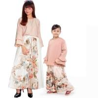 Setelan Kulot Ibu Dan Anak Banyak Warna Motif
