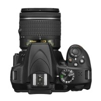 Nikon D3400 Kit 18-55mm VR Kamera DSLR - Black