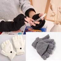 Glove Fingerless Wool
