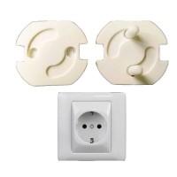 Safety Socket Plug Listrik EU Spring Style