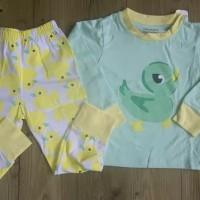 Setelan Baju Tidur Piyama Anak Bayi Cowok (BIG SIZE) Duck Import