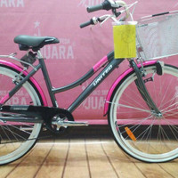 SEPEDA UNITED TC 3650 PATTAYA CTB 26 INCH ALLOY FRAME DARK GREY 7SPD
