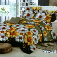 Bed Cover Romeo motif Choco Aster
