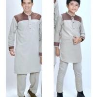 Baju Muslim / Baju Koko Couple Bapak dan Anak Laki-laki