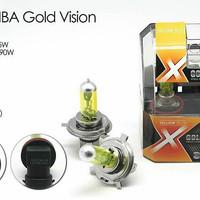 Halogen Gold Michiba H1-H3-HB3-HB4-H11-H27 - 55 Watt (Yellow)