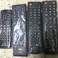 Remote TV LED LCD Layar Datar Flat Remot Samsung Toshiba LG Sharp