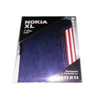 HP Nokia XL Flip Cover Casing Case Blue Biru