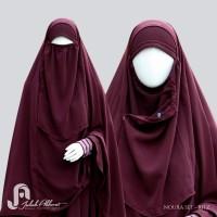 Gamis set Noura + Jilbab cadar ritz
