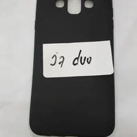 Slim Black Case Hp Samsung J7 Duo New