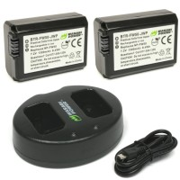 Wasabi Power Battery Kit for Sony NP-FW50 (A5000, A6000, A6500, A7)