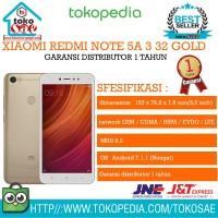 HP XIAOMI REDMI NOTE 5A 3 32 GOLD GARANSI DISTRIBUTOR 1 TAHUN ANDROID
