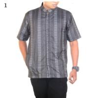 Jual Baju Koko Batik Luqman Motif 10 - Baju Muslim Pria Murah
