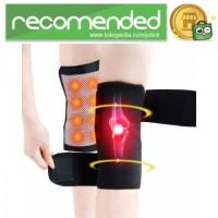 Pelindung Lutut Terapi Magnetik Knee Pad - Hitam - 86cm