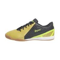 League Men Legas Defcon IC LA Sepatu Futsal - Gold