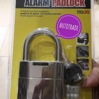 Promo Gembok Alarm Krisbow K205A / Alarm Padlock / Gembok Anti Maling