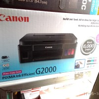 Printer Canon G2000 + Infus Original Pabrikan