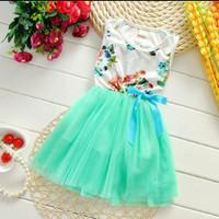 Gaun pesta anak baju anak import gaun anak import baju ulang tahun