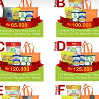 Paket A sembako from bulog