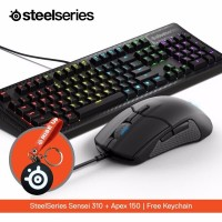 Steelseries Sensei 310 + Apex 150 mambrance free Keychain