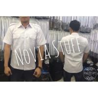 AFINA- Baju putih dki/baju jokowi/baju dinas/seragam putih PNS