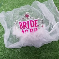 Tiara Bridal SHOWER TIARA MAHKOTA CROWN PESTA Bride To Be