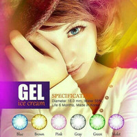 Gel Ice Cream Softlens