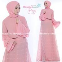 Setelan Baju Muslim Rok Lebaran Brokat ORI PERCY 2 by Hawwa Aiwa