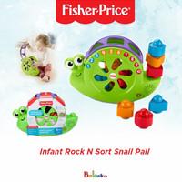 Fisher Price Rock N Sort Snail Pail - Mainan Anak