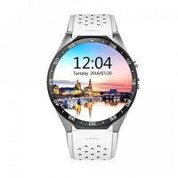 KINGWEAR KW88 3G Android 5.1 Smartwatch Phone White-Silver