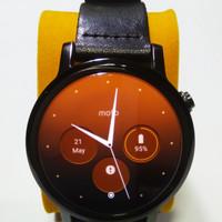 Jam Tangan Moto 360 2nd Generation Full Set Gen 2 Motorola Smartwatch