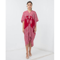 Dress Batik / Kaftan Batik wanita Kaftan Gaya