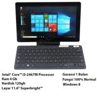Tablet Samsung XE700T1A Ci5-2537M @1.4Ghz Ram 4Gb Hdd 120Gb Tab4
