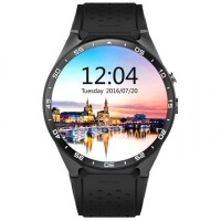 KINGWEAR KW88 3G Android 5.1 Smartwatch Phone Black-Black